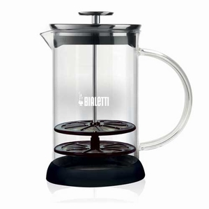 Bialetti Cappuccinatore Glas voor magnetron 1ltr
