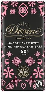 DIVINE Dark Chocolate Pink Himalaya Salt