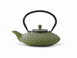 Theepot Gietijzer Xilin - Groen  0,8 Liter