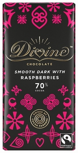 DIVINE Dark Chocolate & Raspberries