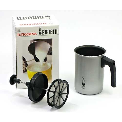 Bialetti Cappuccinatore in RVS voor inductie