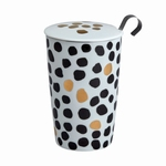 TEAEVE Black & White Lux Dots