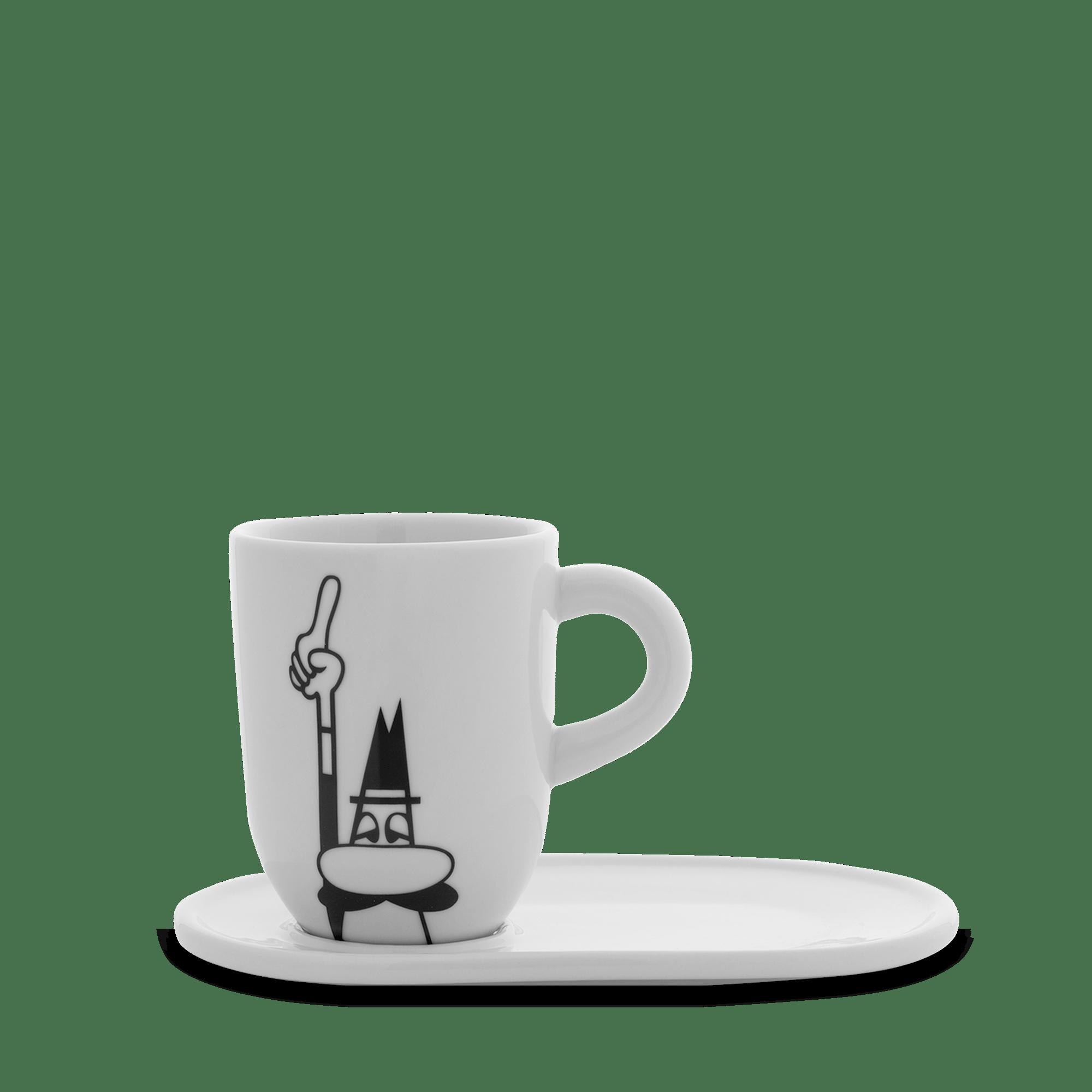 Bialetti Coffee Mok & Schotel